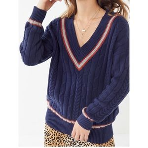URBAN OUTFITTERS PREPPY SWEATER NEW WITH TAG
